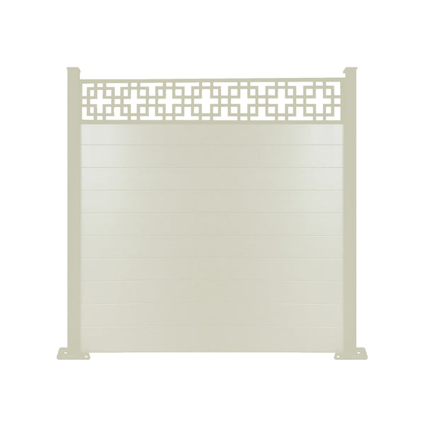Cubed fence - Cream - 4ft