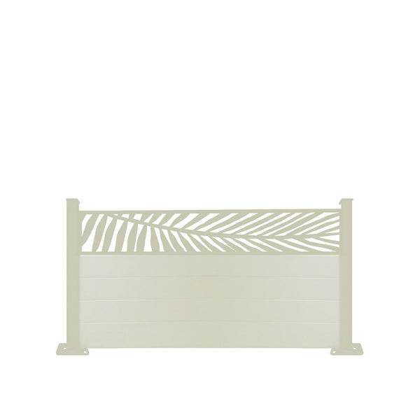 Frond Fence - Cream - 3ft Tall