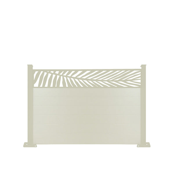 Frond Fence - Cream - 7ft Tall