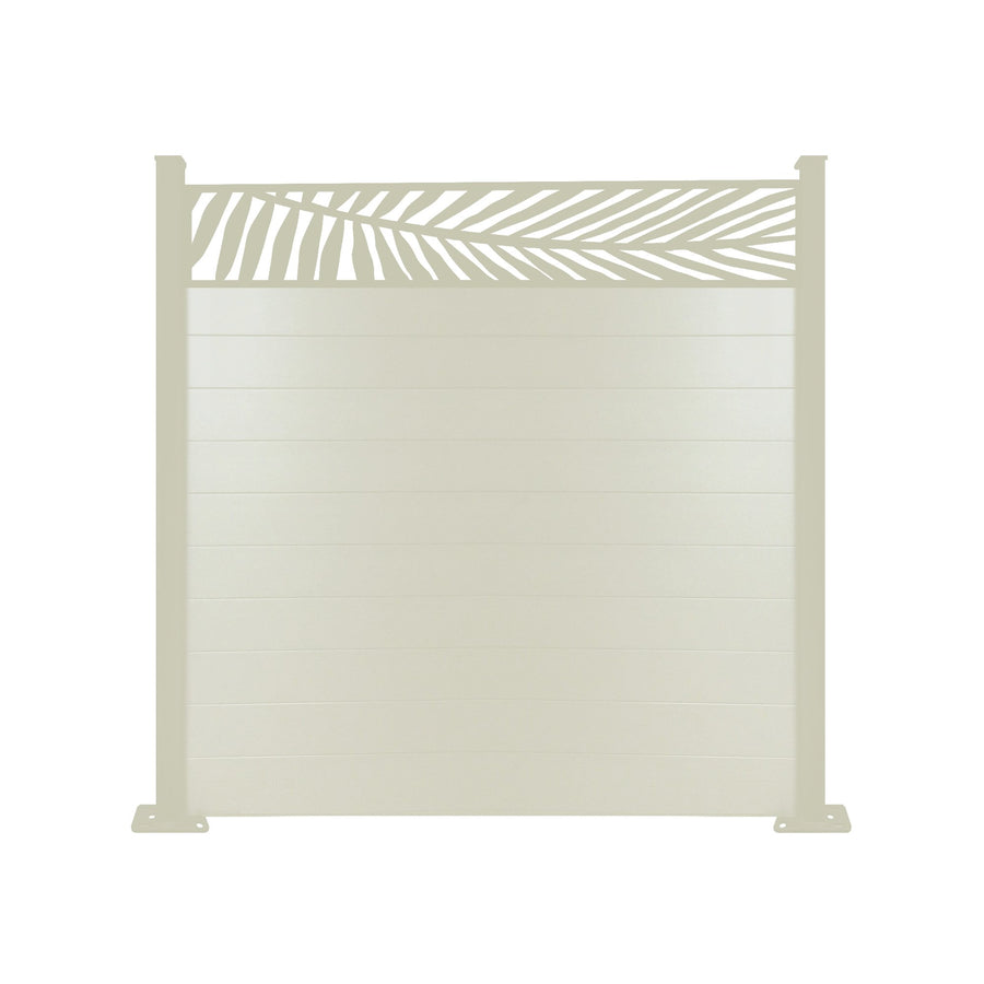 Frond Fence - Cream - 4ft Tall
