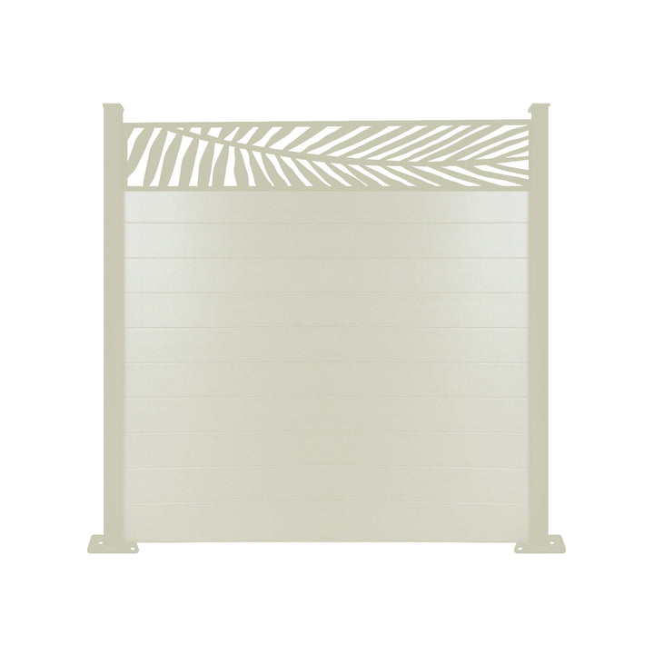 Frond Fence - Cream - 6ft Tall