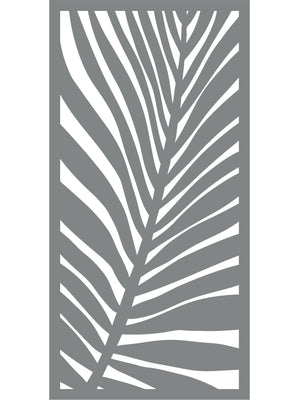 Outdoor Covid Screen - Frond Design