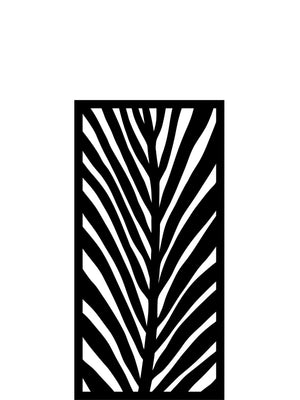 Frond Medium Garden Screen - 4ft x 2ft