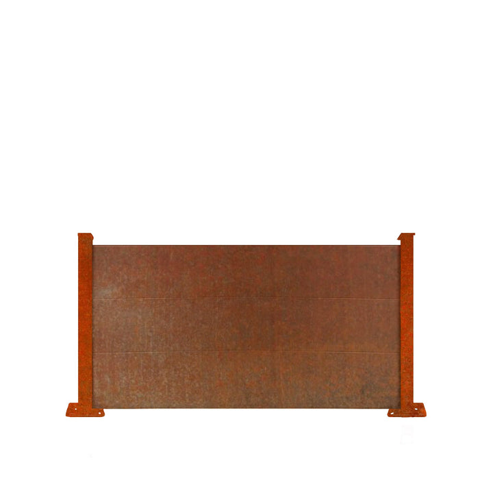 Corten Fence Panel - 3ft Tall