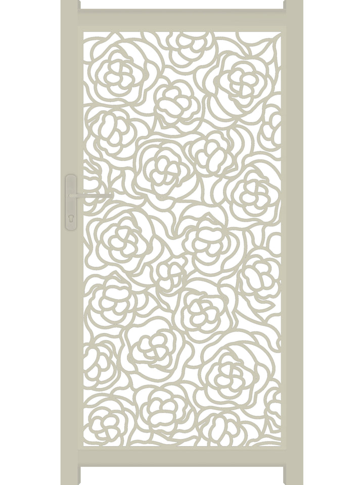 Hana Screen Gate - Cream