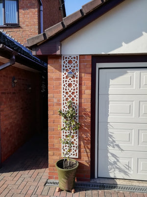 Alhambra Cream Tall Trellis - 6ft x 1ft