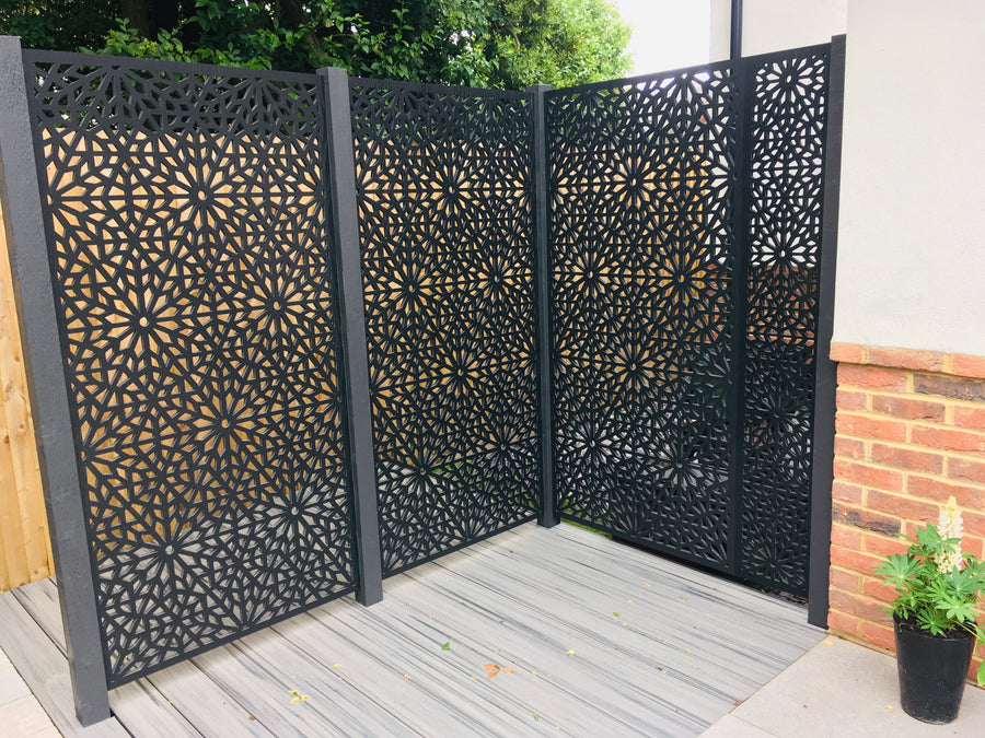 Outdoor Covid Screen - Moucharabiya Design