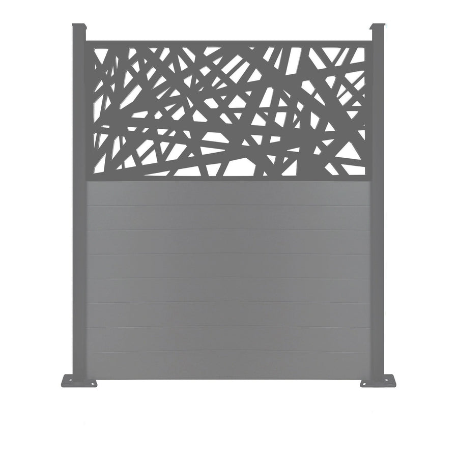Kerplunk Screen Fence - Anthracite Grey - 6ft
