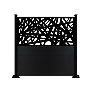 Kerplunk Screen Fence - Black - 6ft