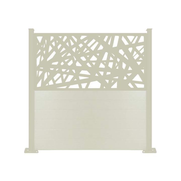 Kerplunk Screen Fence - Cream - 6ft
