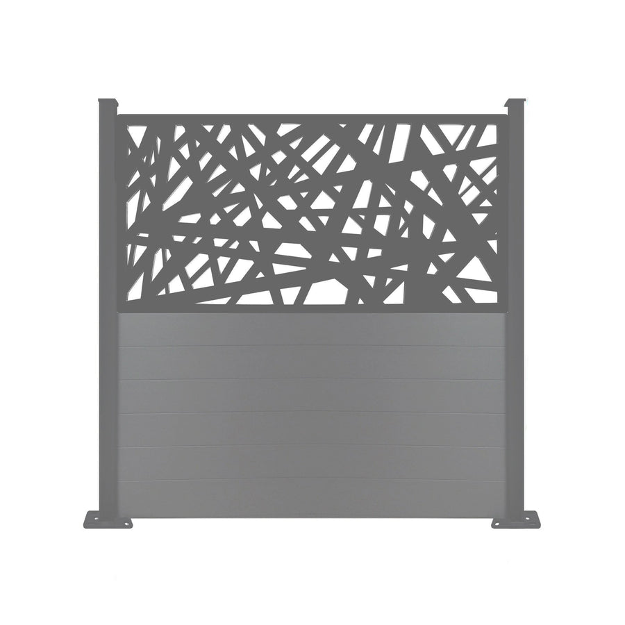 Kerplunk Screen Fence - Dove Grey - 6ft