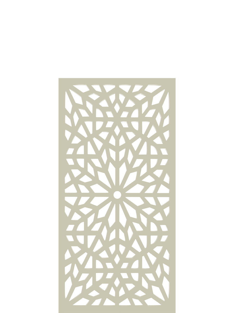 Cream tall art trellis by Screen With Envy - free UK delivery