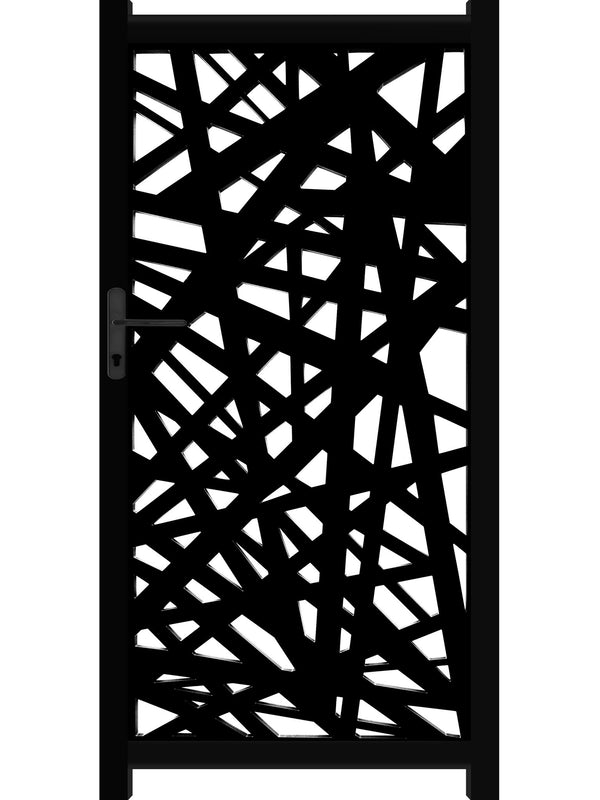 Kerplunk Screen Gate - Black - 4ft height