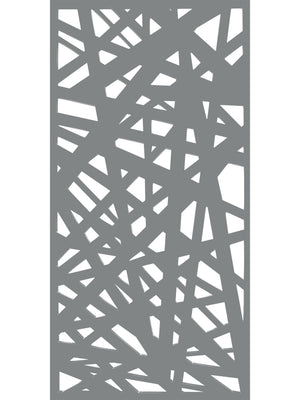 Kerplunk - Dove Grey - Large Garden Screen