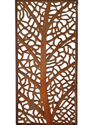 L'Arbre Corten Garden Screen