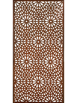 Moucharabiya Corten Metal Screen 180 x 90
