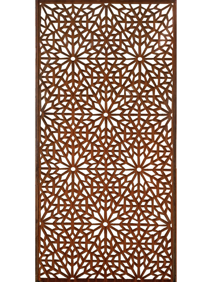 Moucharabiya Corten Garden Screen