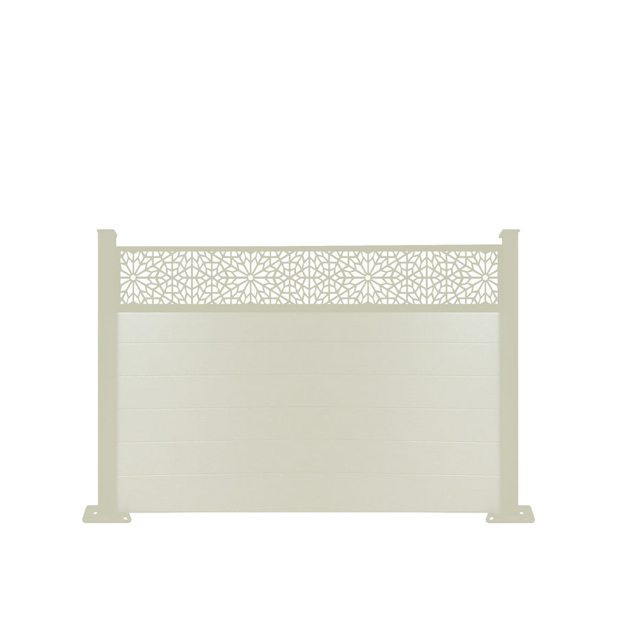 Moucharabiya Fence - Cream - 4ft