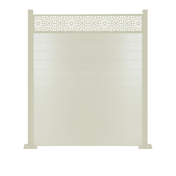 Moucharabiya Fence - Cream - 3ft