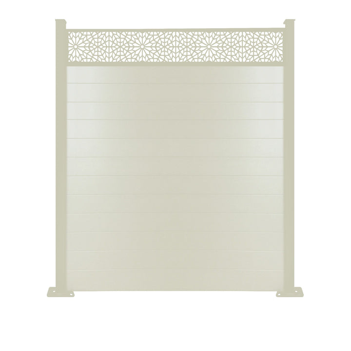 Moucharabiya Fence - Cream - 7ft