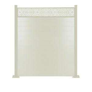 Moucharabiya Fence - Cream - 6ft