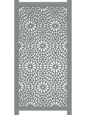 Moucharabiya Screen Gate - Cream - 4ft height