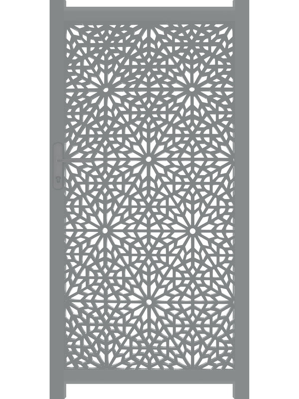 Moucharabiya Screen Gate - Cream - Tall