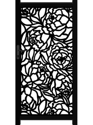 Bloom Screen Gate - Dove Grey - 4ft height