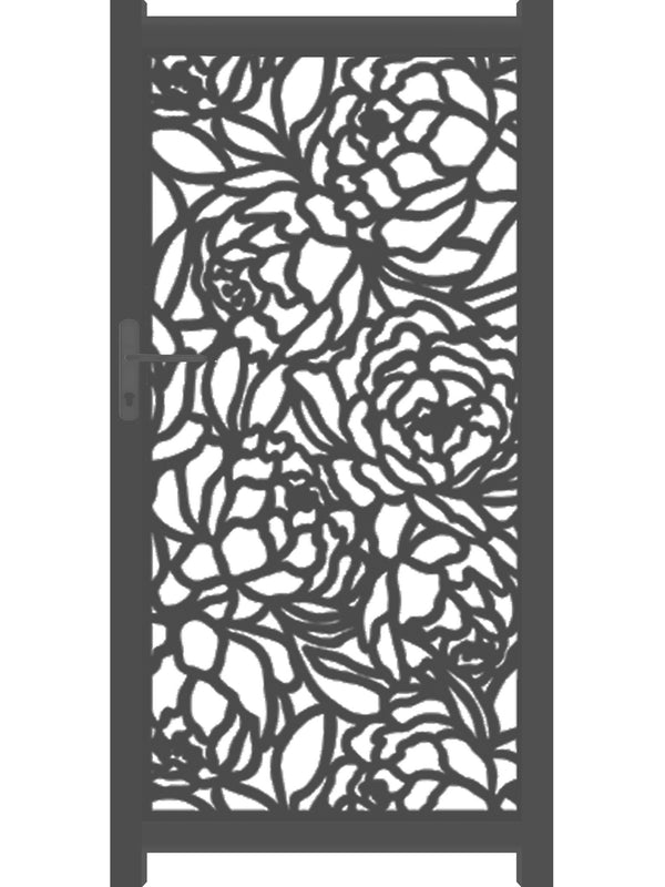 Bloom Screen Gate - Black - 4ft height