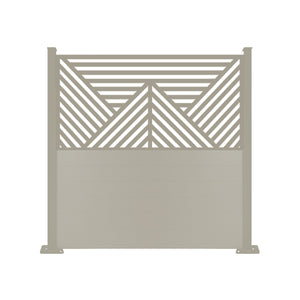 Vector Dove Grey Screen Fence - 7ft