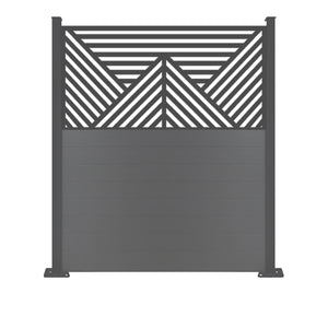 Vector Black Screen Fence - 6ft