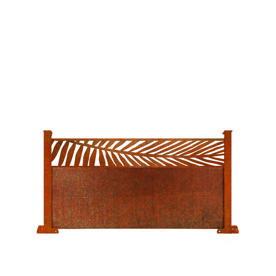 Corten Frond Fence - 3ft Tall
