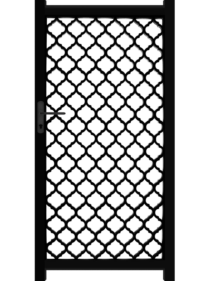 Souk Screen Gate - Black