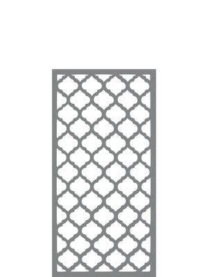 Souk - Dove Grey -  Medium Garden Trellis