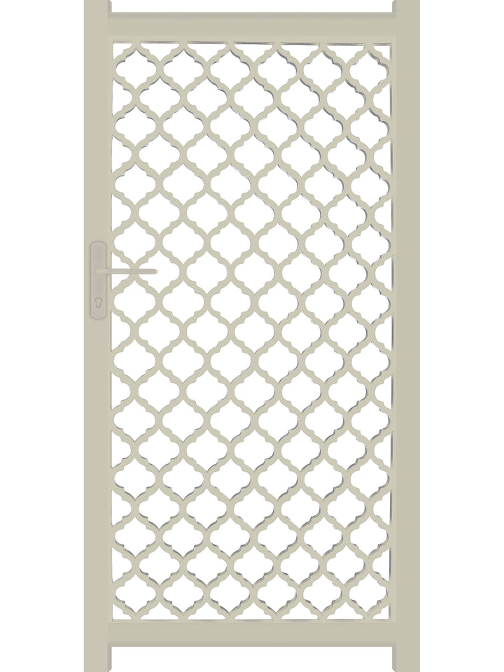 Souk Screen Gate - Cream