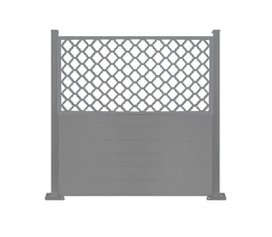Souk Screen Fence  - Dove Grey