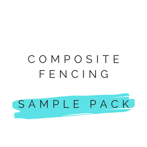 Fencing Sample Pack