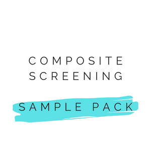 Screening sample pack
