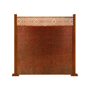 Corten Moucharabiya Fence - 3ft Tall