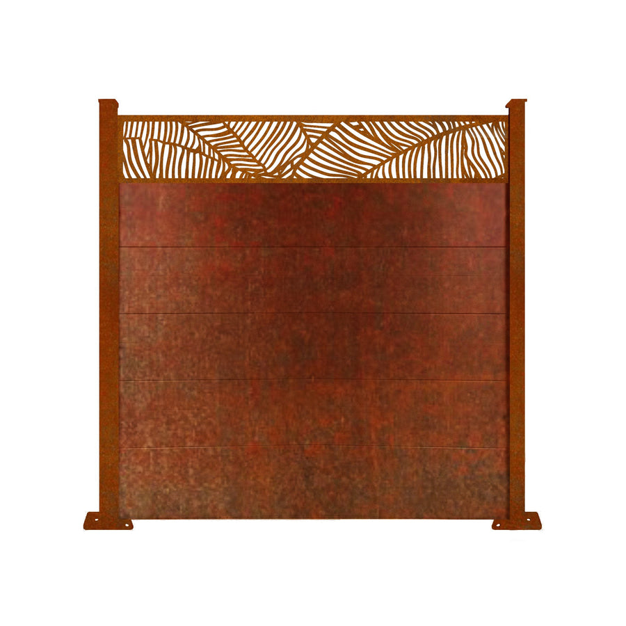 Corten Verdure Fence - 3ft Tall