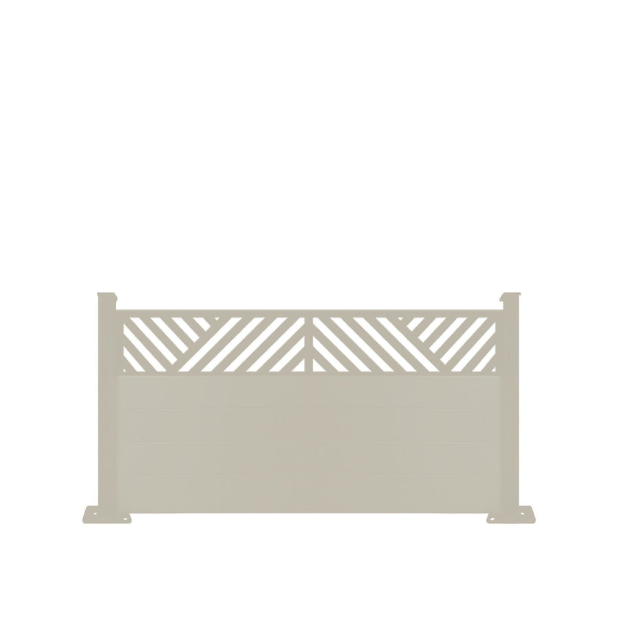 Vector Fence - Cream - 3ft Tall
