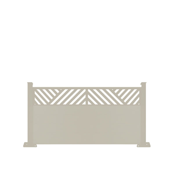 Vector Fence - Cream - 4ft Tall