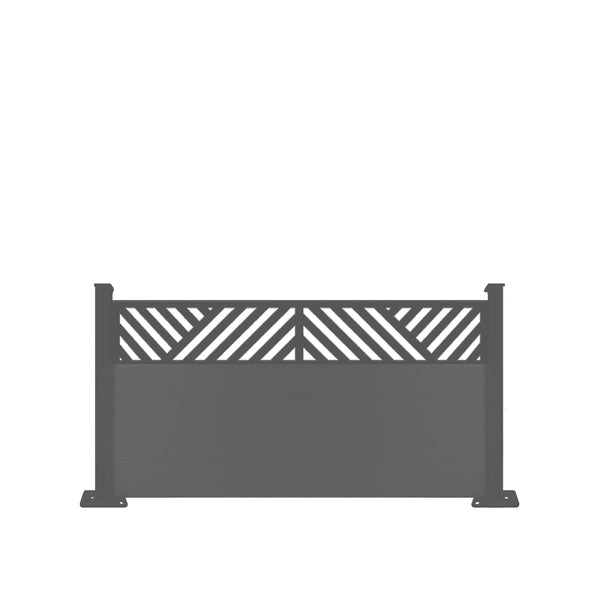 Vector Fence - Anthracite Grey - 3ft Tall