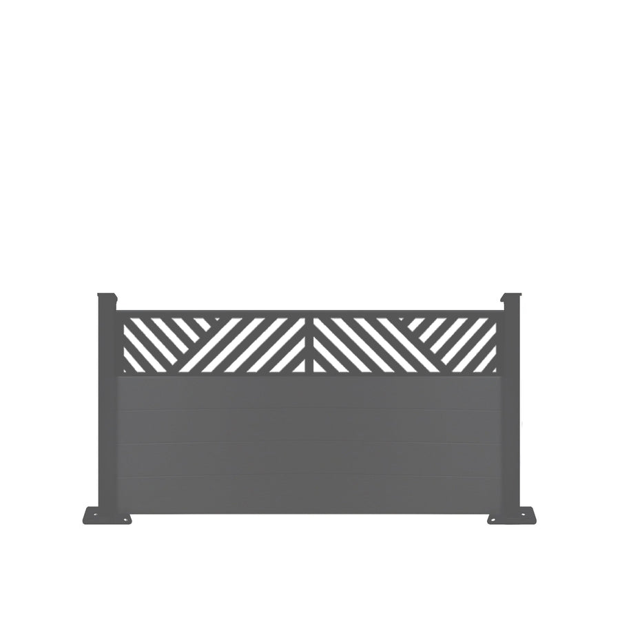 Vector Fence - Black - 7ft Tall