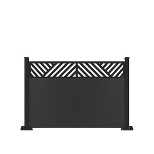 Vector Fence - Black - 3ft Tall