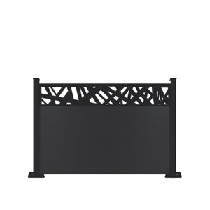 Kerplunk Fence - Black - 6ft Tall