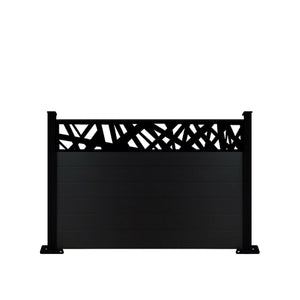 Kerplunk Fence - Black - 3ft Tall