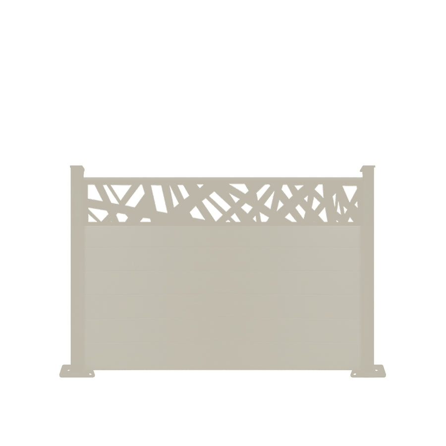 Kerplunk Fence - Dove Grey - 6ft Tall
