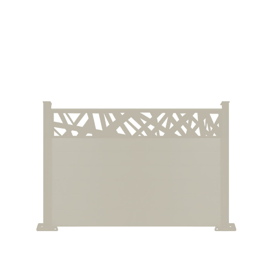 Kerplunk Fence - Cream - 3ft Tall