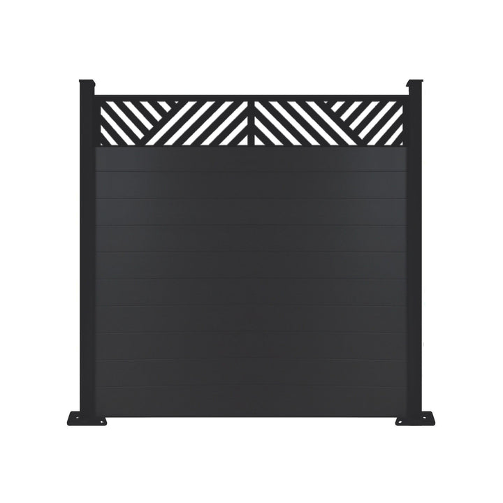Vector Fence - Black - 6ft Tall